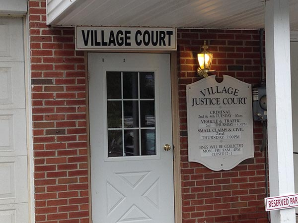Village of Green Wood Lake Justice Court